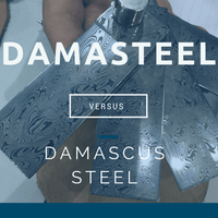 Damasteel® vs. Damascus Steel - Explaining the Materials