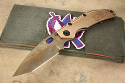 Duane Dwyer Custom Tanto - CD#1 and Naval Bronze