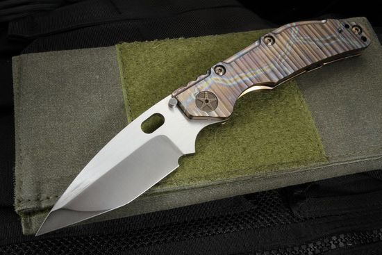 Duane Dwyer Custom Hissatsu - M390 Steel and Lightning Titanium