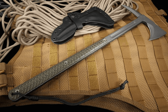 RMJ Tactical Eagle Talon Tomahawk - Dirty Olive