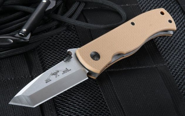 Emerson CQC-7V SF Satin Finish - Wave Opening Knife