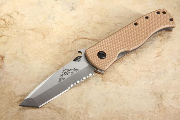 Emerson CQC-7V SFS Serrated Folding Knife