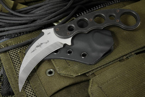 Emerson Fixed Blade Karambit SF - Satin Finished