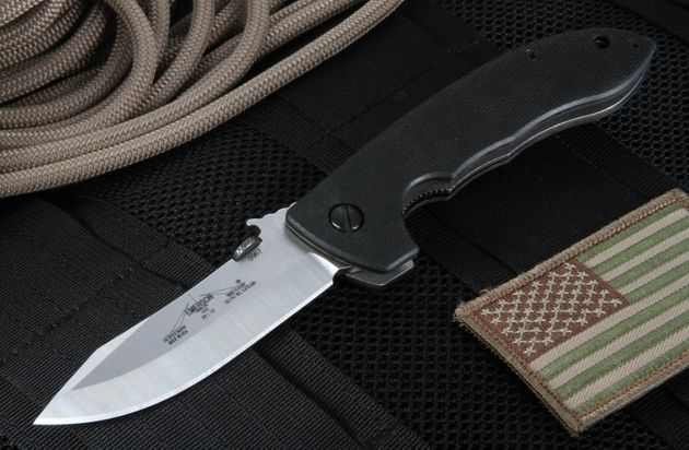 Emerson Horseman SF Satin - Mini CQC-8