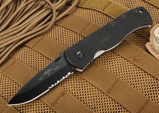 Emerson Knives CQC-7A BTS Black Serrated Blade