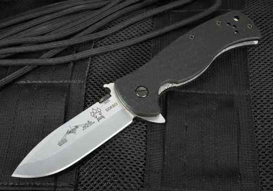 Emerson Sheepdog SF Flipper with Wave - Spear Point Folding Knife