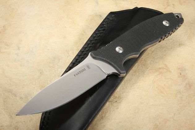 Fantoni HB Fixed Bill Harsey Design with S35VN Steel and Black G-10
