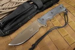"Freeman Outdoor Gear 5.5"" Model 451 ""Little Beast"" Field Knife - FDE"