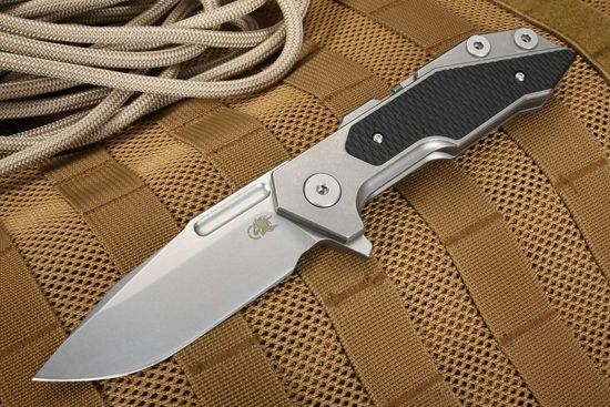 Hinderer Knives Fulltrack Folding Knife - Black G-10