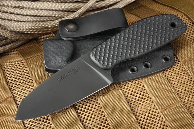 Joe Caswell CK-3 CPM 3V Tactical Fixed Blade