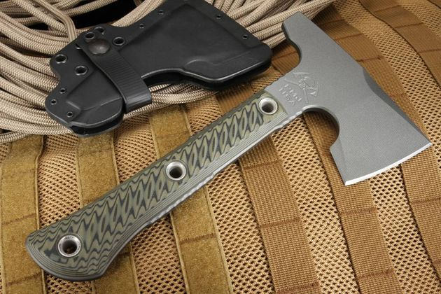 RMJ Tactical Mini Jenny Hammer Poll Tomahawk - Dirty Olive
