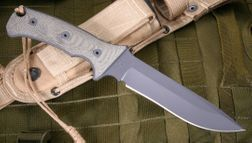Neil Roberts Warrior Knife Background - by Bill Harsey