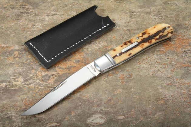 Hiroaki Ohta Custom Model 108 Stag Folding Knife