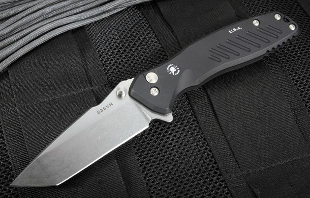 Spartan Blades Pallas Tanto Flipper Folding Knife with S35VN Steel