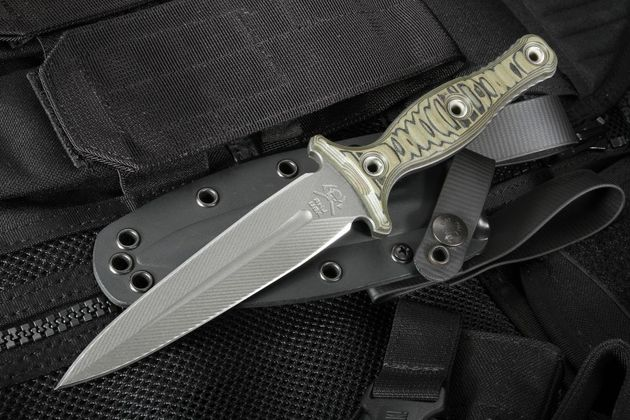 RMJ Tactical Raider Dagger - Dirty Olive