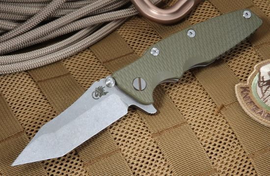 "Hinderer Knives 3.5"" Eklipse OD Green Tactical Folder"