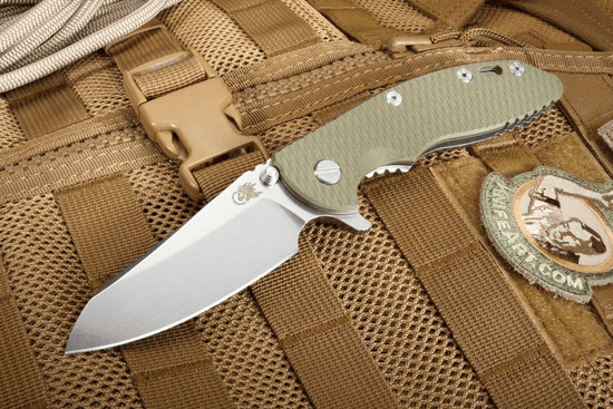"Rick Hinderer XM-18 3.5"" Gen 6 Sheepsfoot - Tri Way Pivot Flipper"