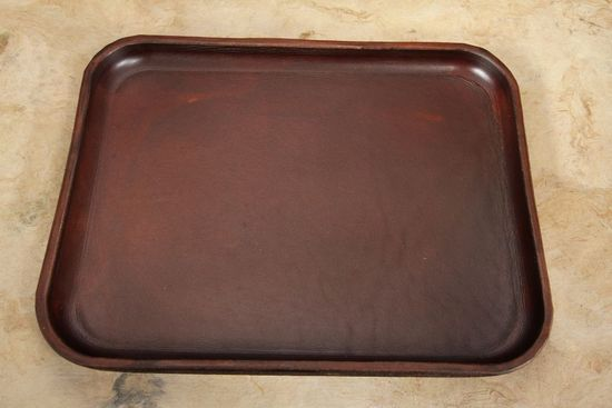 Chattanooga Leatherworks Leather Valet Tray