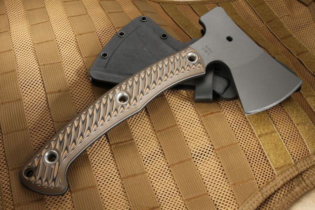 RMJ Tactical Outpost Camp Axe - Hyena Brown