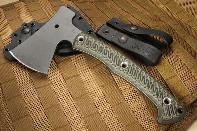 RMJ Tactical Outpost Camp Axe - Dirty Olive