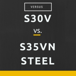 S30V vs S35VN Steel: Differences and Advantages