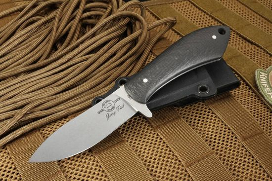 White River Sendero Pack Knife - Carbon Fiber Exclusive