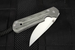 Chris Reeve Small Sebenza 21 Micarta Inlay Folding Knife - Left Hand