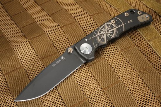 Sparan Harsey Folding Knife - Golden Compass Special Edition