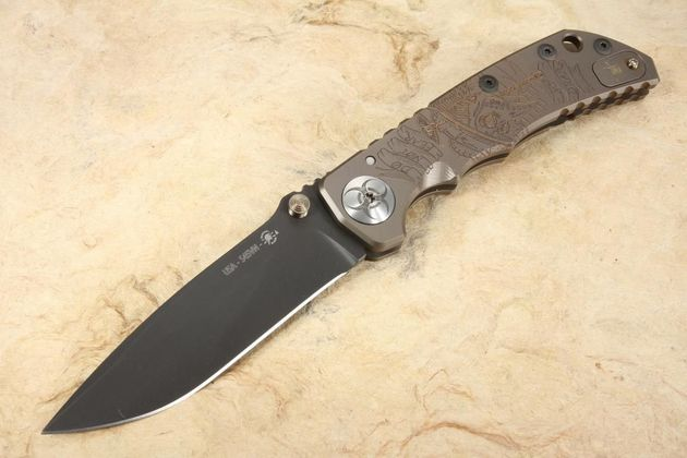 Sparan Harsey Folding Knife - Plague Doctor Special Edition