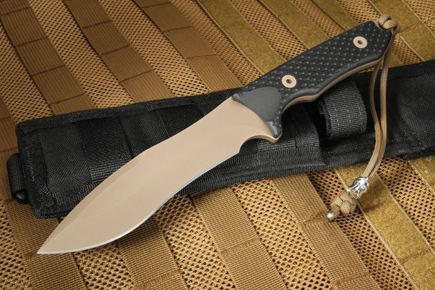 Spartan Blades Ronin Shinto - FDE Blade, Black Handle