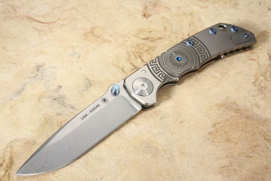 Spartan Harsey Folding Knife - Shield Special Edition