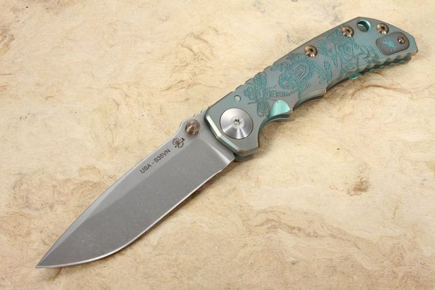 Spartan Harsey Folding Knife - Northwest Coast