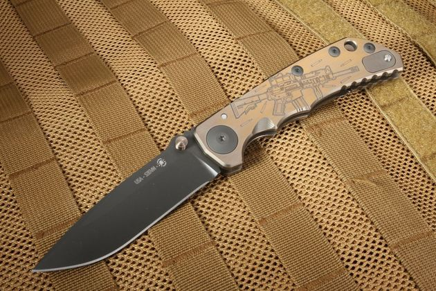 Spartan Harsey Folding Knife - M4 Rifle Special Edition