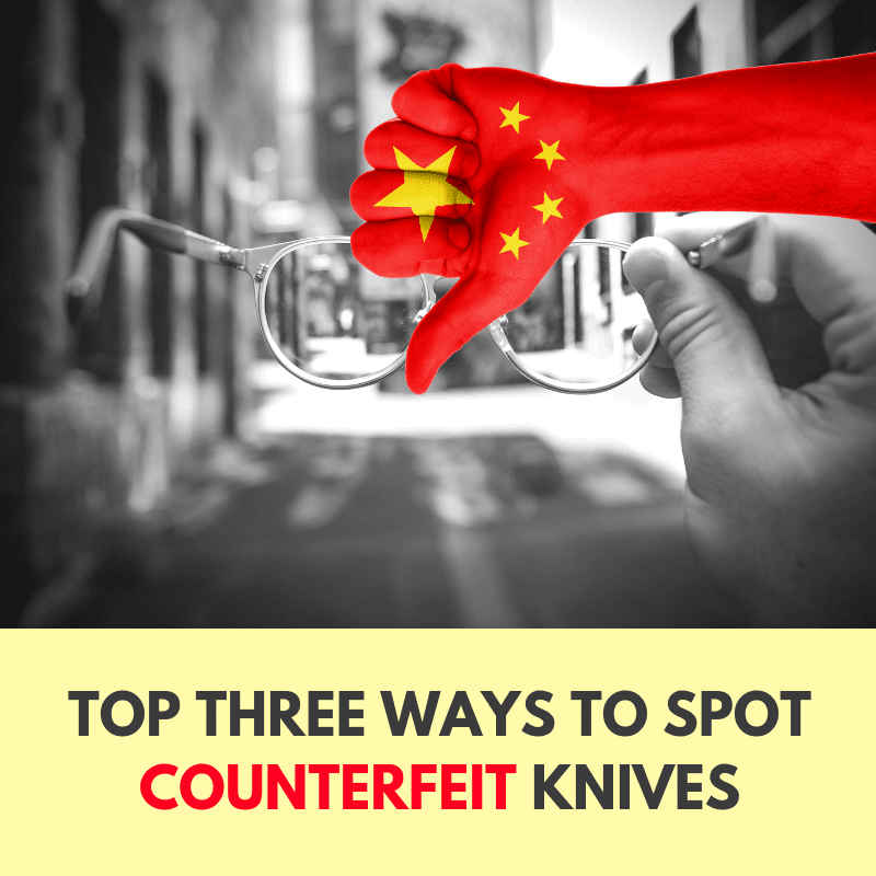 The Top Three Ways to Tell if a Knife is Counterfeit at KnifeArt com
