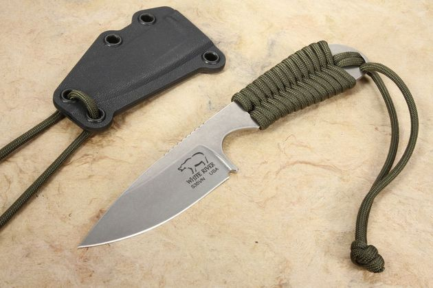 White River Backpacker - Olive Drab Paracord Handle