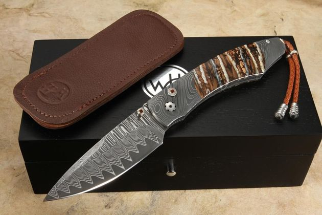 William Henry B12 Ice Age 2 Wave Damascus and Mammoth Tooth