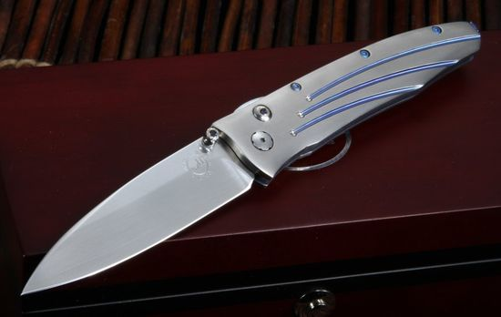William Henry B30 Saturn Gentac Folding Knife