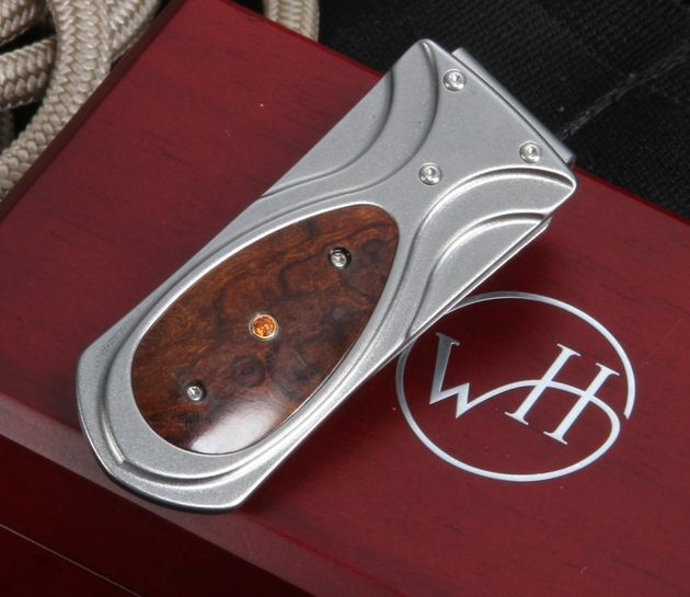 William Henry M3 Mojave Zurich - Money Clip - Ironwood & Titanium