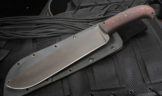 Winkler Camp Knife - Caswell & Maple - Survival Knife