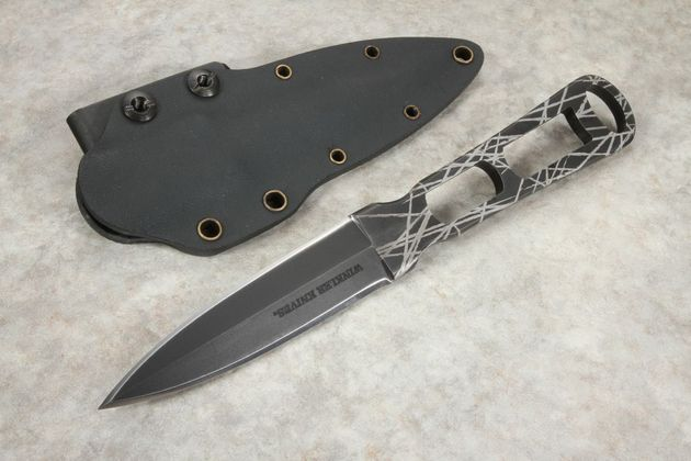 Winkler Defensive Dagger - Integral Construction - Caswell - Scarred Finish