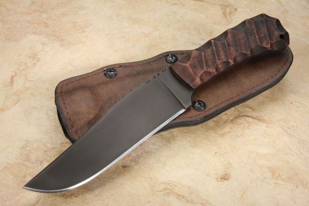 Winkler Field Knife - Sculpted Maple - Caswell Finish