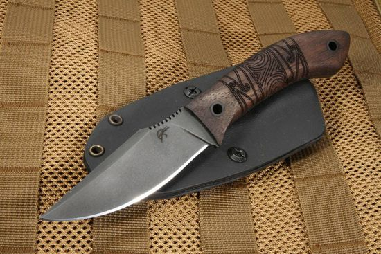 Winkler Knives Everycarry - Tribal Walnut - Jason Knight Design
