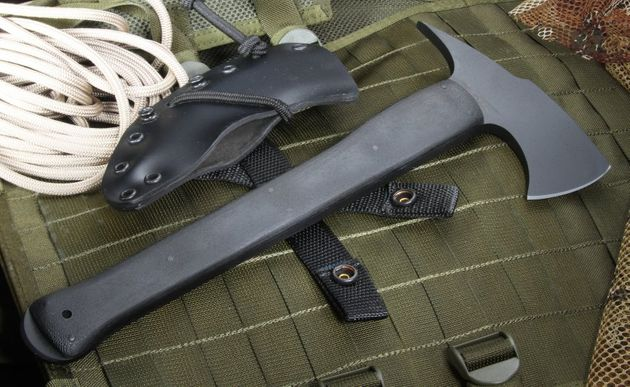 Winkler Knives II Combat Axe Black KG and Micarta