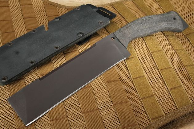 Winkler Knives - AF Survival Knife - Black Micarta and Caswell