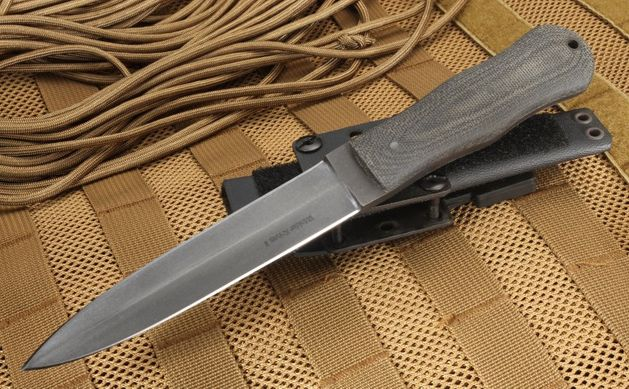 Winkler Knives Tactical Dagger - Black Micarta and Caswell