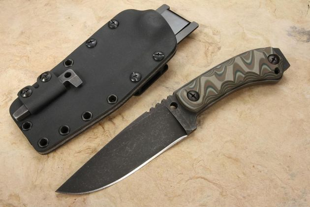 Winkler Survival Striker - Camo G-10 Knife