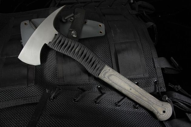 Winkler Knives Wild Bill Axe - OD Micarta and Black Cord