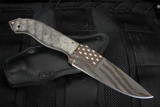 Winkler Spike - American Flag Special Edition Fixed Blade