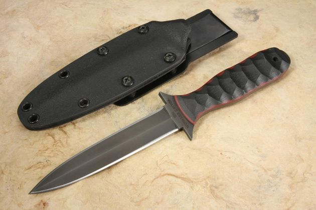 Winkler CxC Dagger - Sculpted Black and Red G-10 - Limited Edition