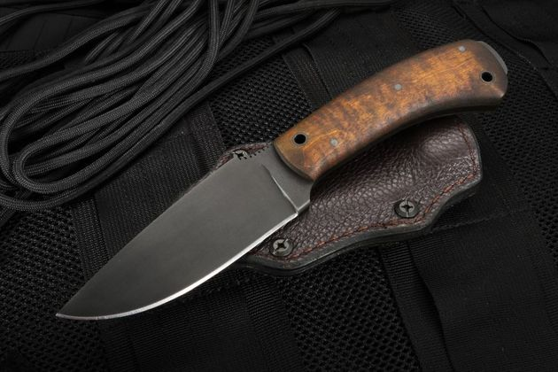Winkler Woodsman -  Maple Handle Hunting Knife